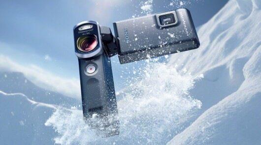 Sony обяви водоустойчива видеокамера за масовия потребител Handycam HDR-GW66VE