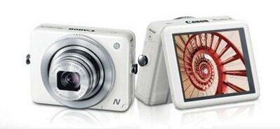 Canon показа квадратен фотоапарат с метален корпус – PowerShot N