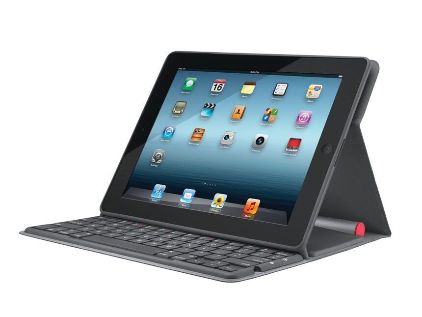 Logitech добави аксесоар за iPad със соларно захранване на клавиатурата