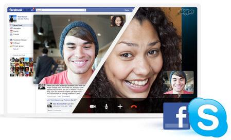 Видео разговорите между Facebook и Skype вече са възможни