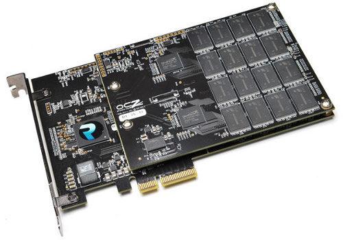 SSD-тата RevoDrive 3 и X2 на OCZ идват с PCI-Express x4 шина