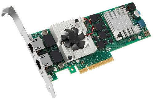 Intel реализира два 10GbE порта в сървърен адаптер