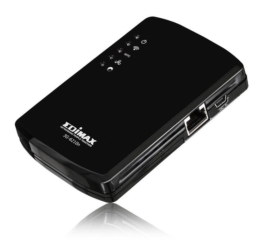 Суперлек 3G мобилен ШЛ маршрутизатор на Edimax