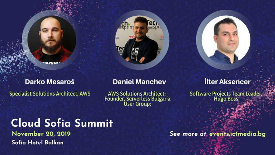 Технологични експерти и бизнес лидери ще събере Cloud Sofia Summit 2019